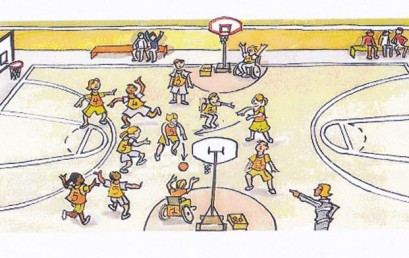 "Baskin. Το άθλημα-μπάσκετ που οι ρόλοι του ""ταιριάζουν"" στους παίκτες!"