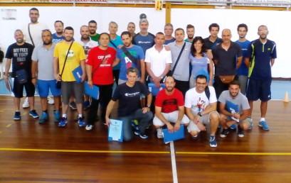 Συνάντηση προπονητών καλαθοσφαίρισης αναπτυξιακών ηλικιών, Άλιμος 2015