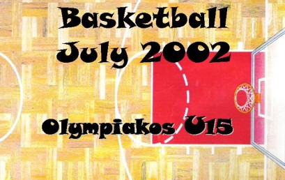 Basketball.Μεταβατική περίοδος Παιδικής Ομάδας Ολυμπιακού, 2002