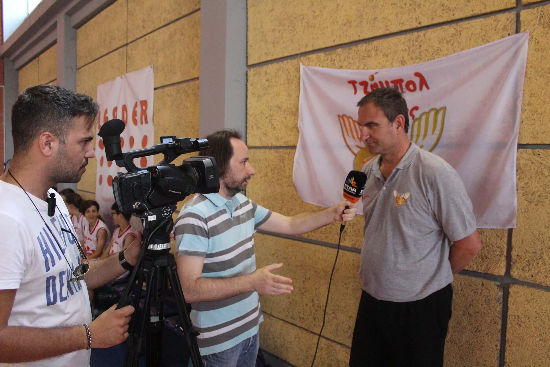 Συνεντεύξεις σε τηλεοπτικά μέσα ενημέρωσης