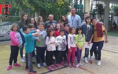 Μιχάλης Ζαμπίδης, Σχολείο Θεμιστοκλής.