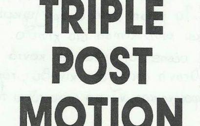 """Επιθετική Συνεργασία """"Triple Post Motion"""""""