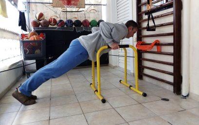 #WeStayHome & Gymnastics