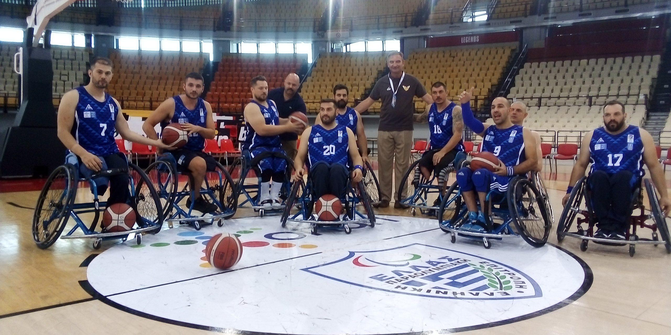 Η πορεία της Εθνικής ομάδας μπάσκετ με Αμαξίδιο