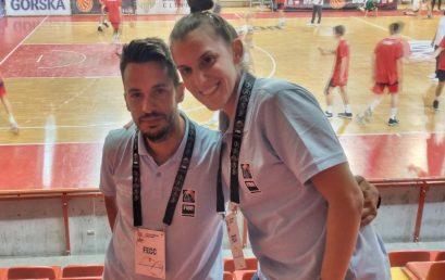 Έφη Βαννού & Δημήτρης Δανιήλ – FIBA Europe Coaching Certificate